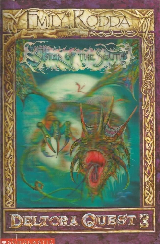 Old Book Cover Quest : Deltora quest the sister of south hologram cover