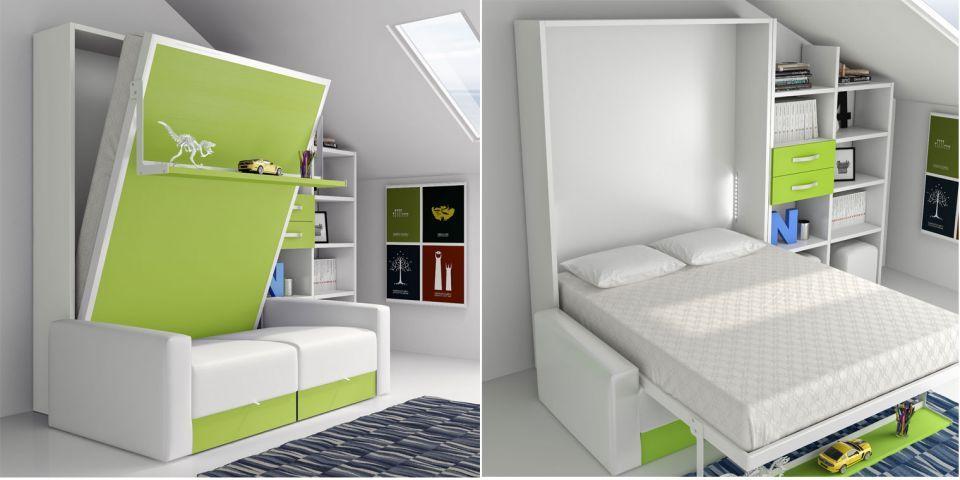 Comprar cama abatible escamotable sofa cama sof 90 x - Fabricar cama abatible ...