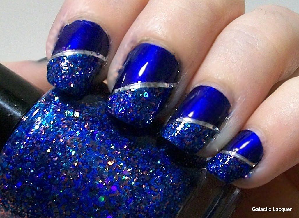 MIDNIGHT BLUE nail trends 2013   BEAUTY IDEAS   Pinterest   Nail ...