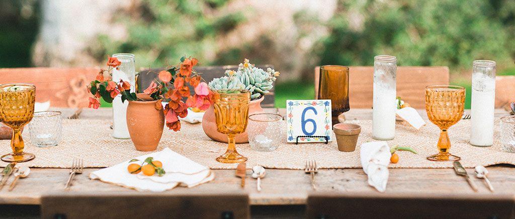 Border Grill Catering Wedding Reception Tables Watercolor Floral Wedding Invitations Reception Table