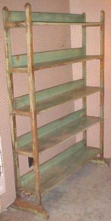 Antique Baker S Bread Rack Original Paint Antique Shelves Craft
