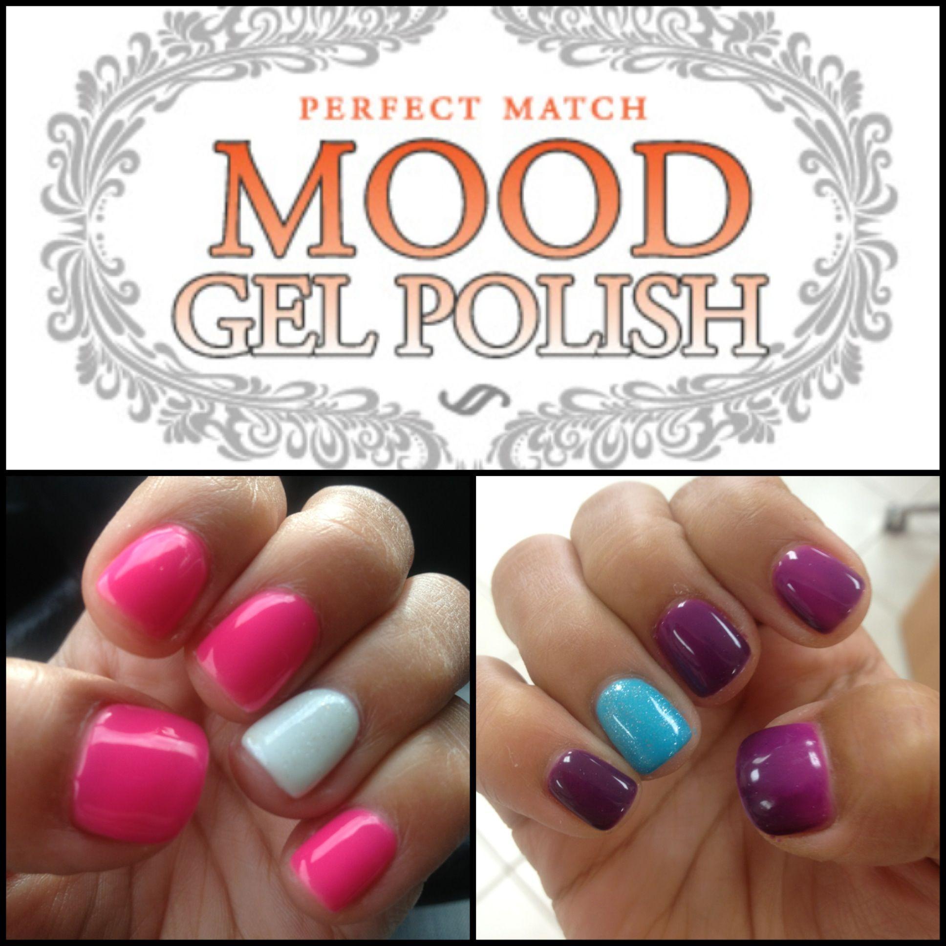 LeChat mood color changing gel nail polish! | NAILS! | Pinterest ...