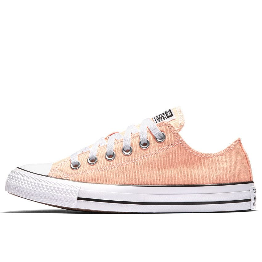 Chuck Taylor All Star Seasonal Colors Low Top in Sunset Glow\/White\/Black