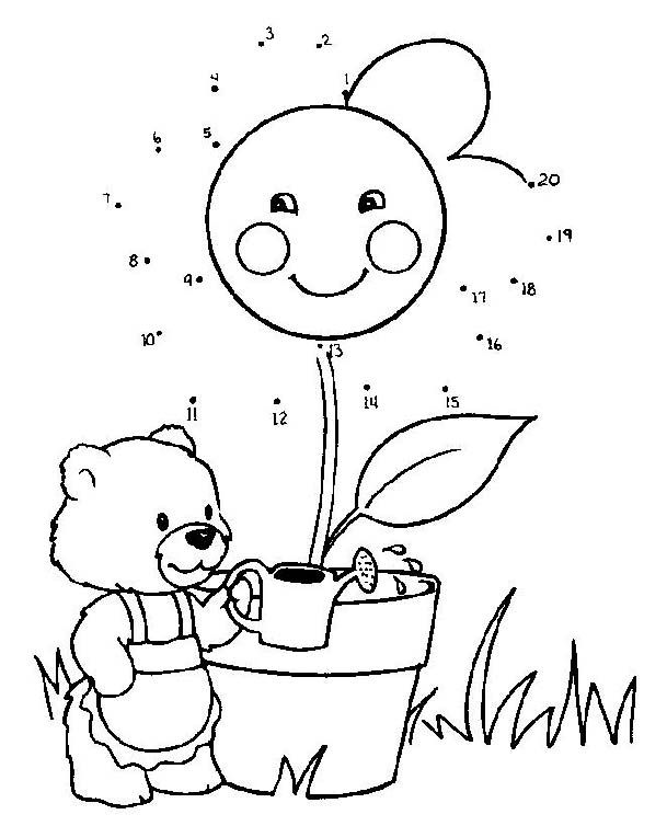 Free Printable Dot To Dot Pages With Images Connect The Dots