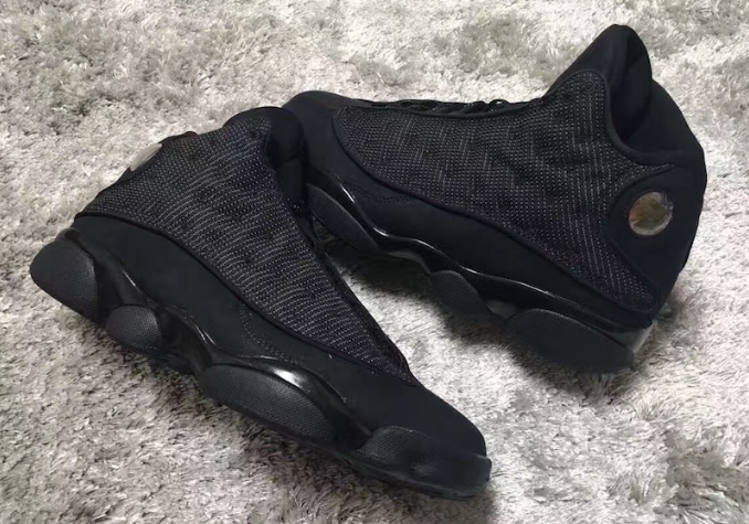 air jordan 13 black cat for girls