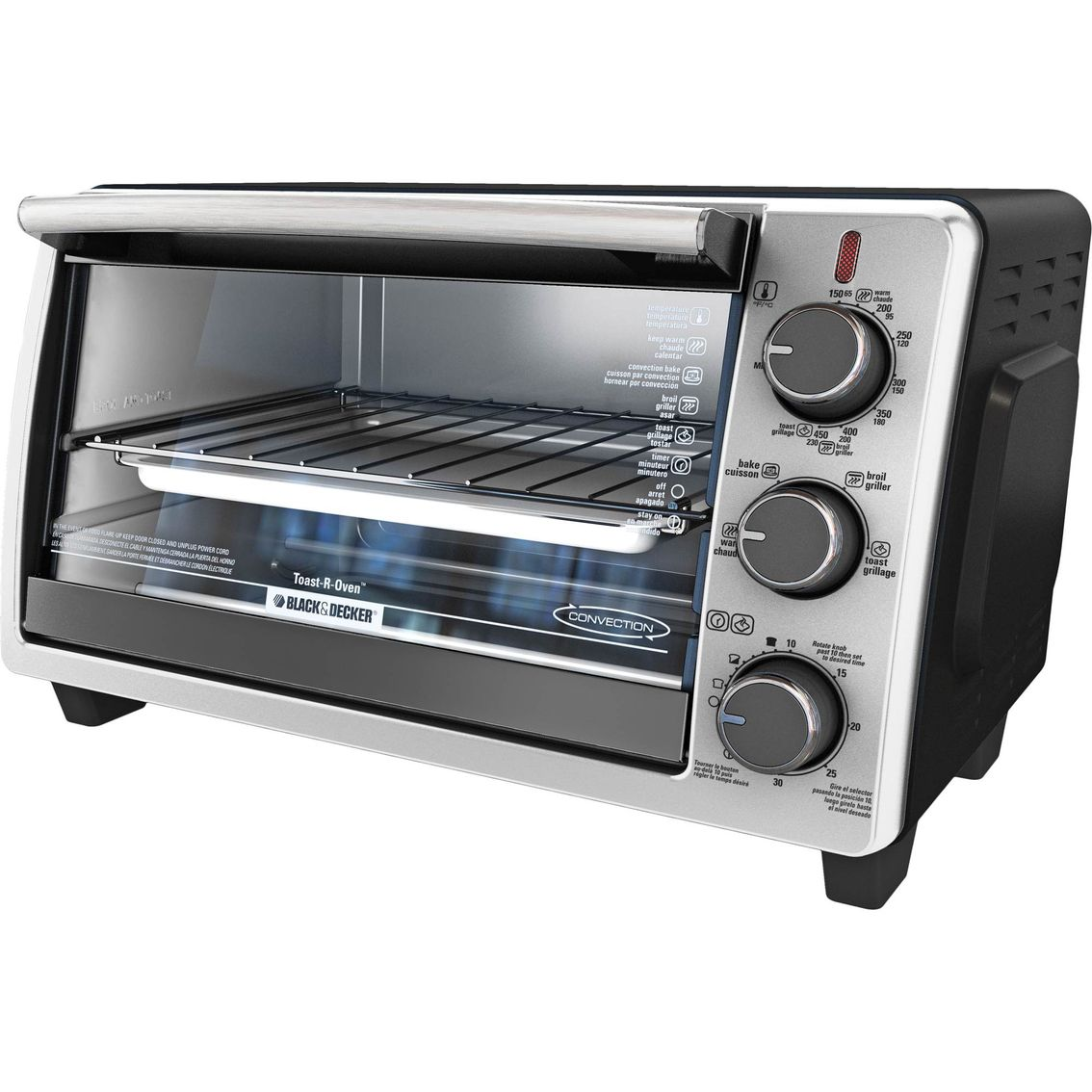 Breakfast, lunch, dinner or snacks, this versatile toaster oven ...
