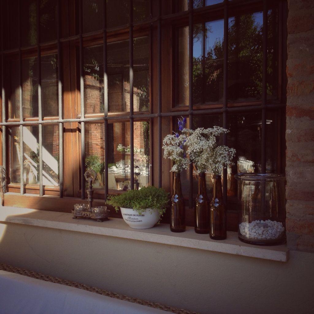 Paniculata y botellas