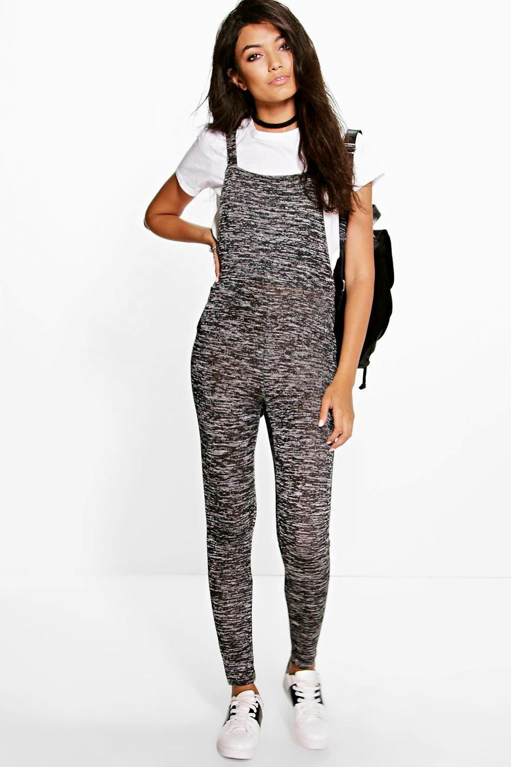 Boohoo sophie knitted dungaree jumpsuit things to wearuse