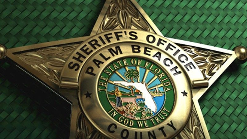 A Palm Beach County Sheriff's Office deputy was arrested