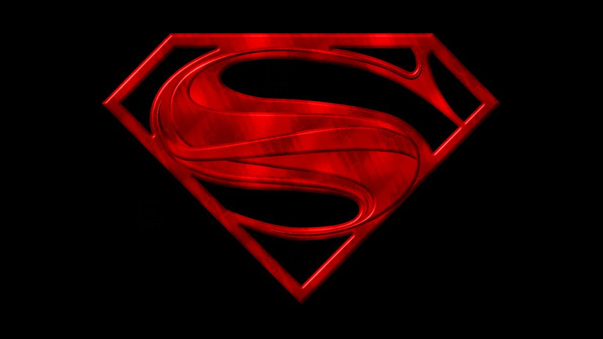 Superman Man Of Steel 2013 Symbol Embossed Wp By Morganrlewis D6dd10e Png 1192 670 Dc Comics Logo Superman Man Of Steel Man Of Steel