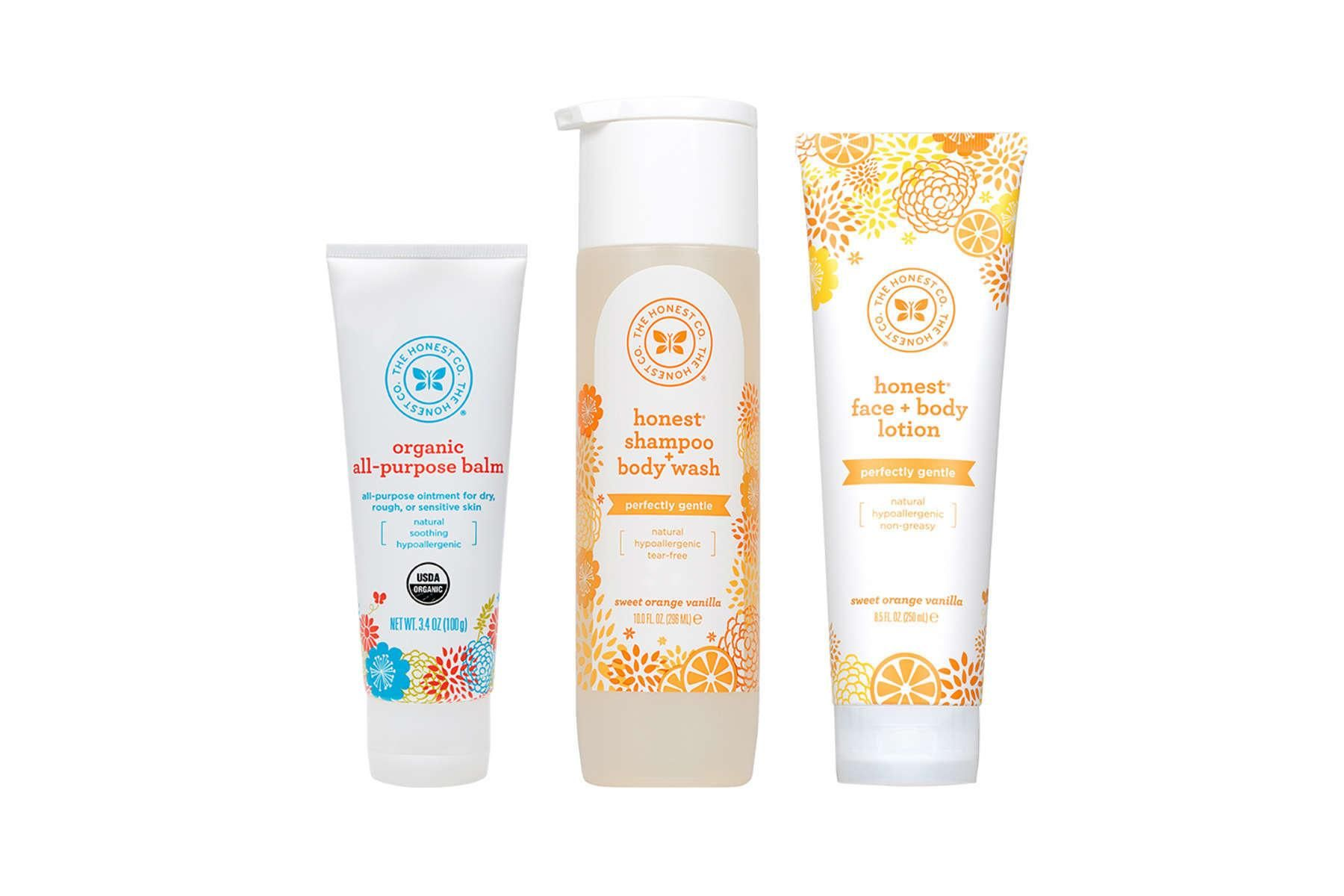 Baby Personal Care Trio Honest Baby Products Personal Care
