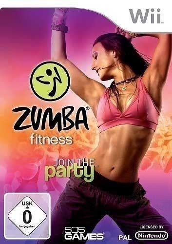 Nintendo Wii Spiel Zumba Fitness 1 Join The Party Nur Software Mit Ovp Zumba Trainingsgurtel Zumba Fitness