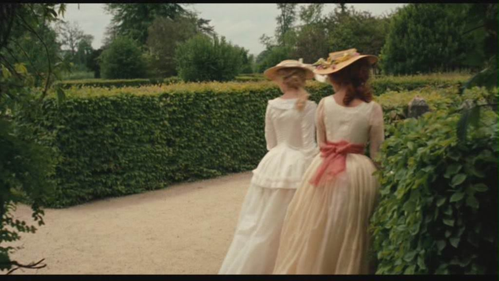 I love Polignac's Yellow Chemise gown on the right.