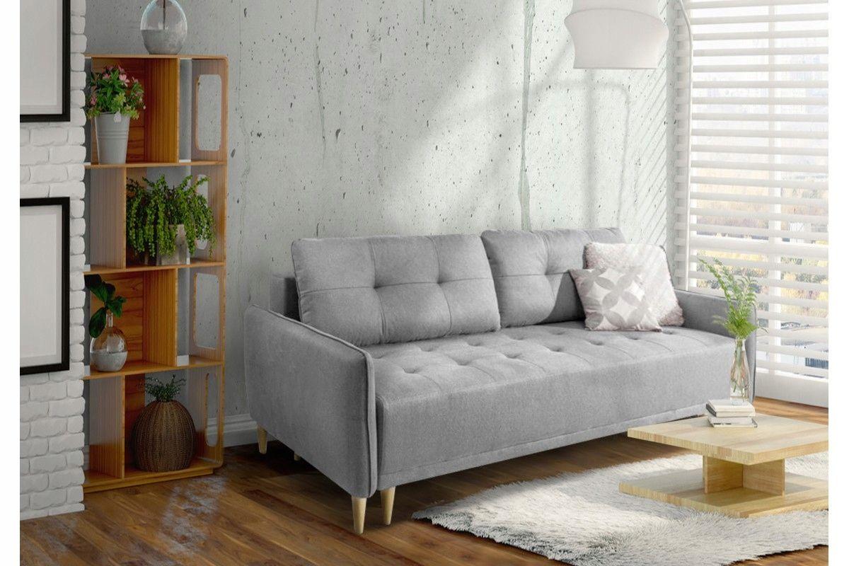 Kanapa Sofa Skandynawska Z Funkcja Spania Hit 7766112539 Oficjalne Archiwum Allegro Furniture Home Decor Sofa