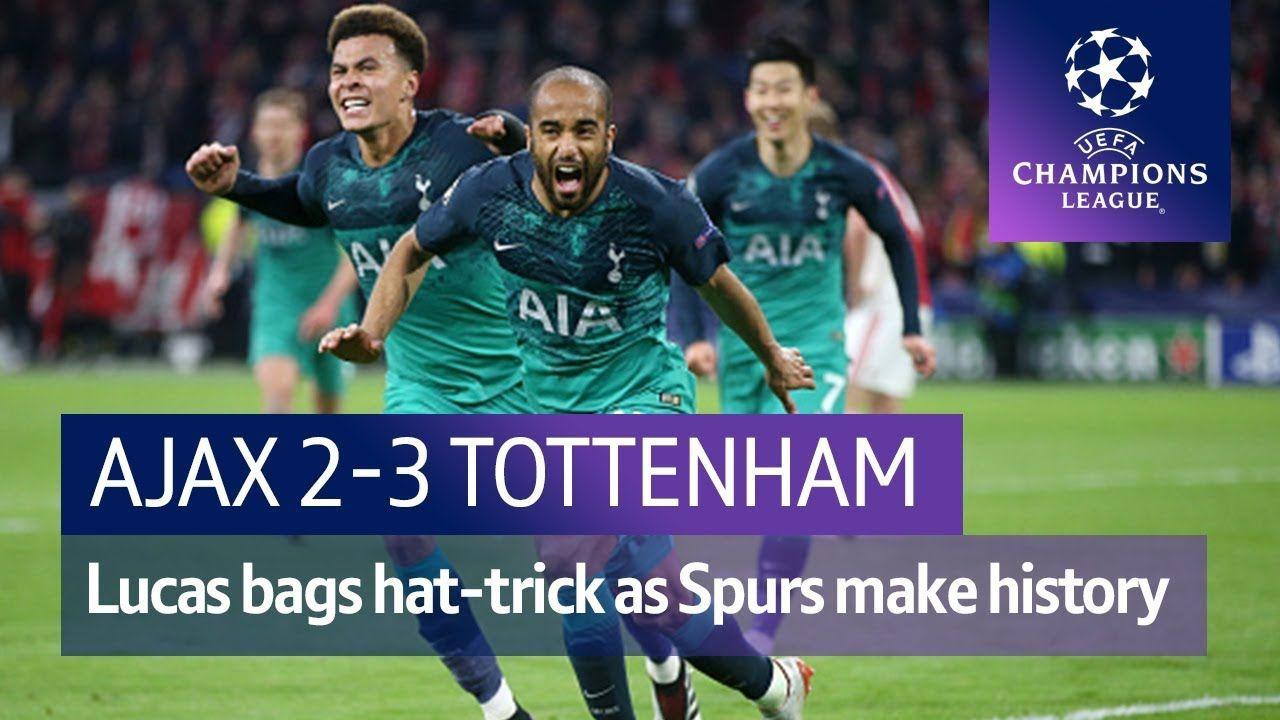 Ajax Vs Tottenham 2 3 Uefa Champions League Highlights Youtube Champions League Uefa Champions League Tottenham