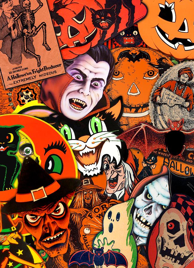 Vintage Halloween Vintage Halloween Cards Halloween Art Vintage Halloween Art