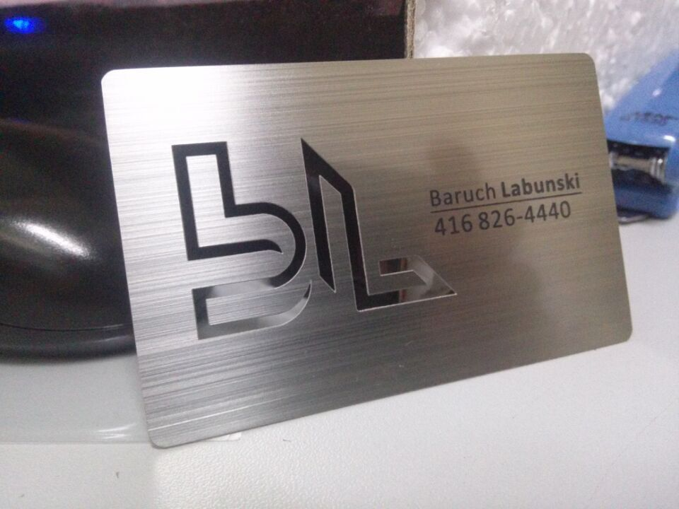 Metal business cards silver gold black free shipping metal business cards silver colourmoves