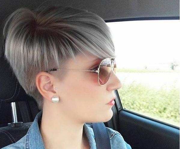 Pin von Arlene Khor auf Pixie hair | Frisur undercut ...