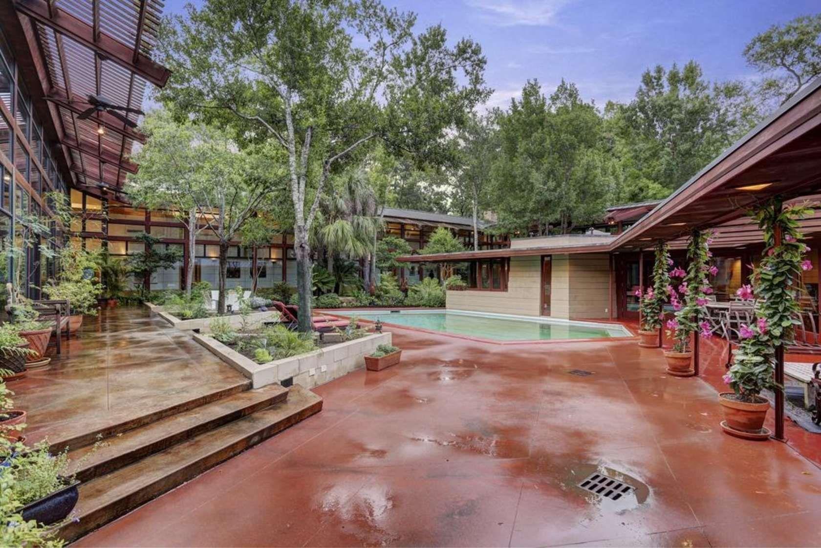 Beautiful William L. Thaxton Jr. House, Houston TX (1954 55)  
