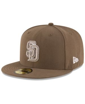 separation shoes 8d2e5 81997 New Era San Diego Padres Authentic Collection 59FIFTY Cap - Green 7 1 2