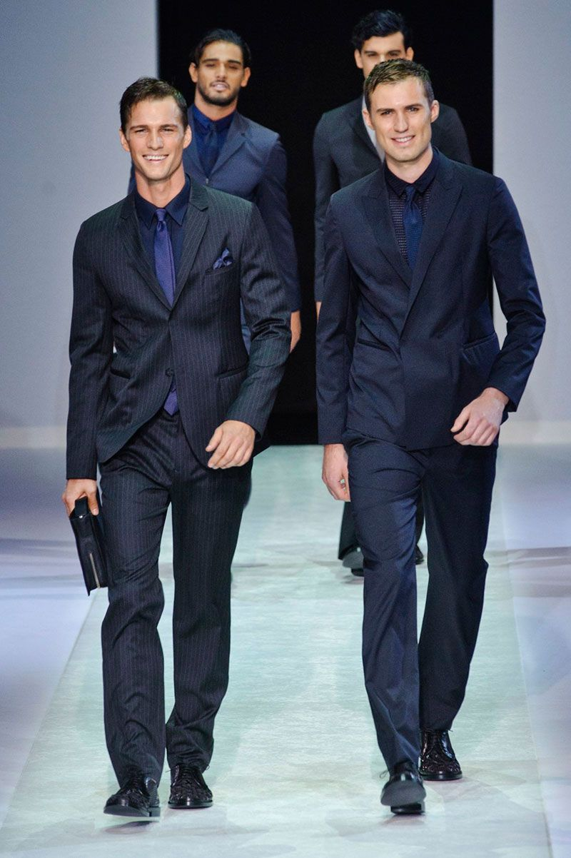 Male Fashion Trends: Emporio Armani Spring/Summer 2014 - Milán Fashion Week #MFW