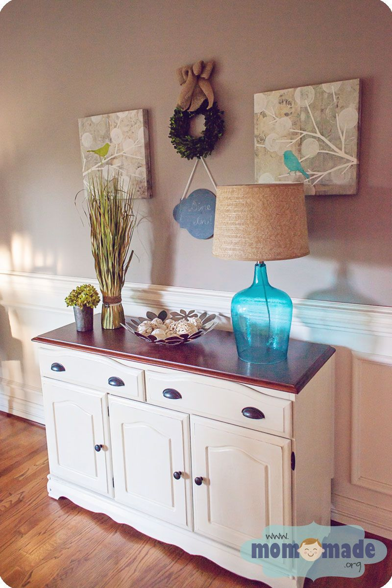 Mom-Made Sewing Shop: Buffet Makeover With Chalk Paint