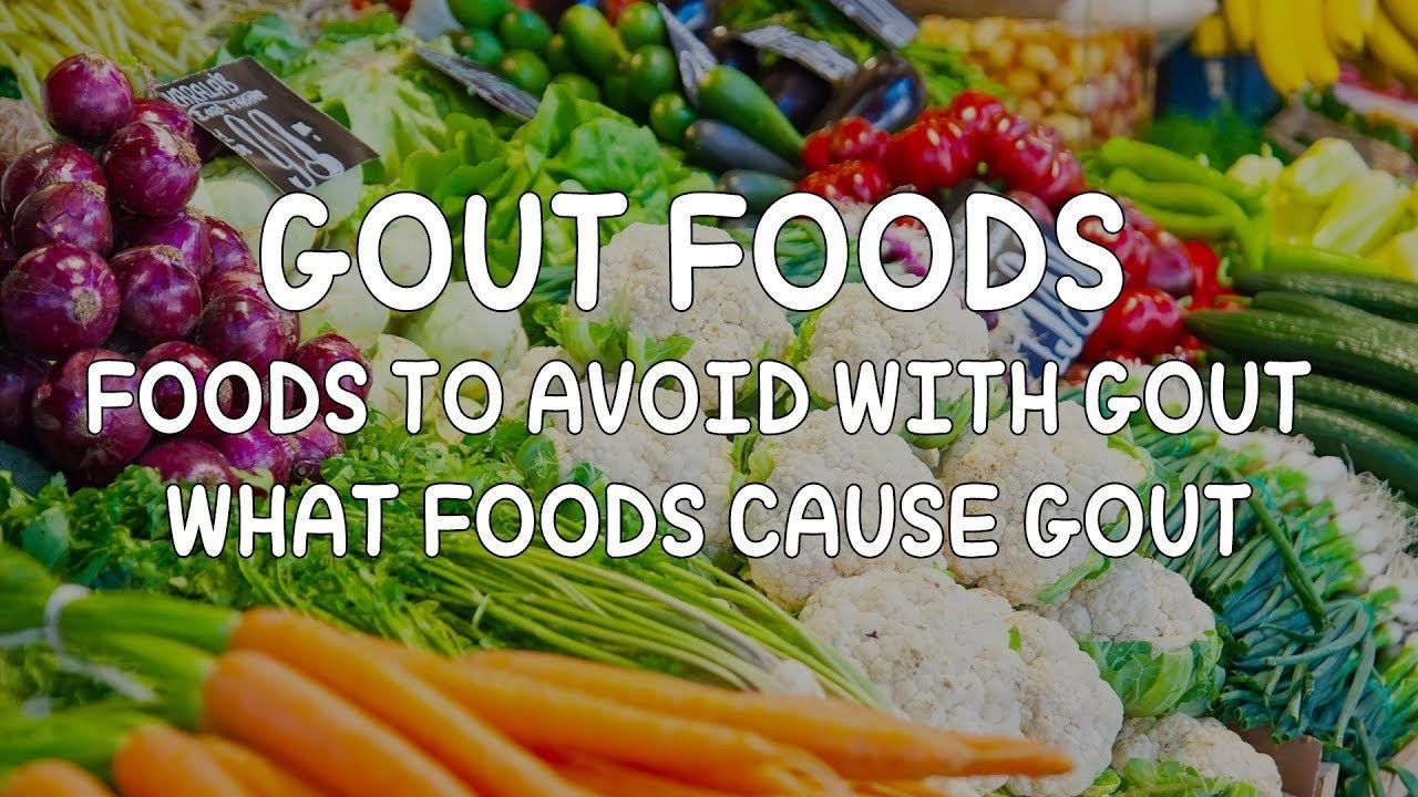 dietary advice for gout sufferers
