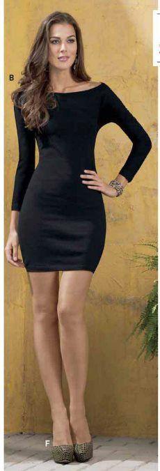 Catalogos Andrea 2019 Vestidos Fashion Bodycon Dress