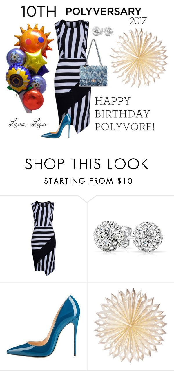 """""""Celebrate Our 10th Polyversary!"""" by coolmommy44 ❤ liked on Polyvore featuring WithChic, Bling Jewelry, Cultural Intrigue, polyversary, contestentry and polyvoreeditorial"""