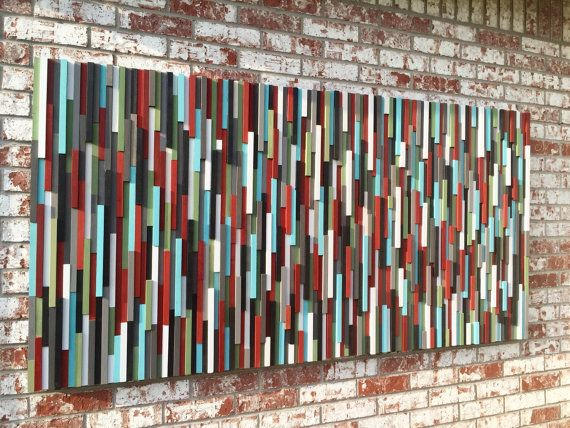 Hey, I found this really awesome Etsy listing at https://www.etsy.com/listing/243454825/abstract-painting-on-wood-modern-wood
