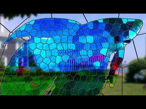 Photoshop Tutorial: How to Transform a Photo into a Stained Glass Window! - YouTube
