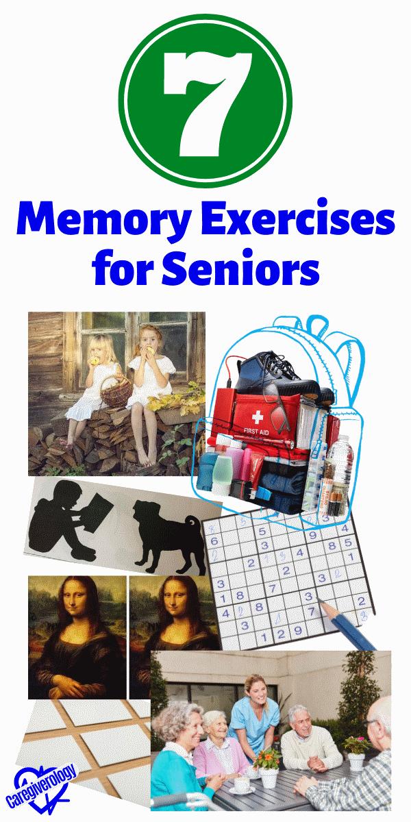 7 Memory Exercises For Seniors Caregiverology In 2020 Memory Exercises Senior Fitness Dementia Activities