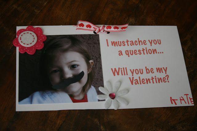 Will Work For Eskimo Kisses: Fun Valentine's Day Card Idea