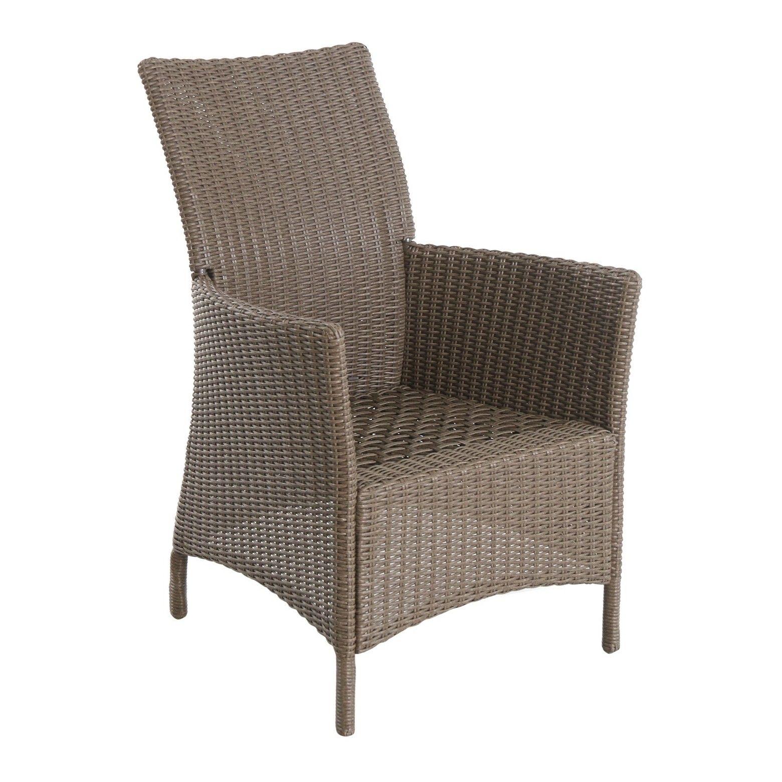 Heatherstone 6pk Wicker Patio Dining Chair Frame ly