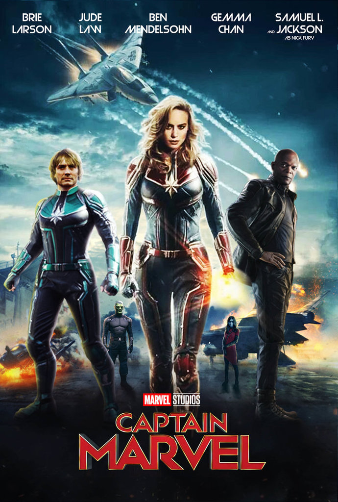Ver Hd Capitana Marvel Pelicula Completa Online Espanol Latino La Bold Over Blog Com Captain Marvel Marvel News Marvel Movies