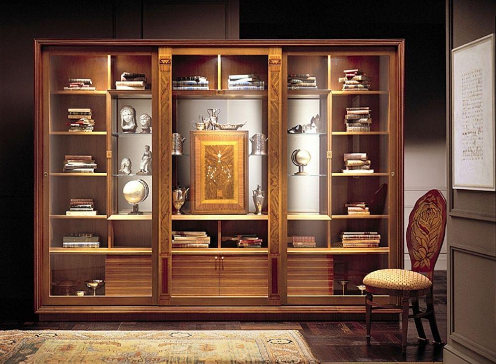 libreria classica a vetrina VL661 LE CORNICI CARPANELLI spa