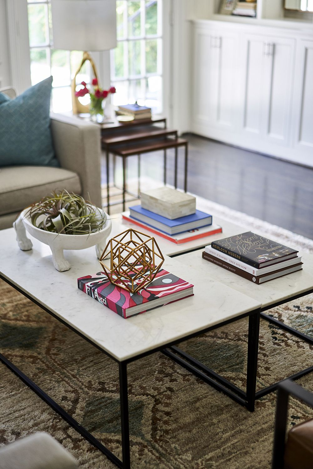 Classic With An Edge Table Decor Living Room Coffee Table Decor Living Room Interior
