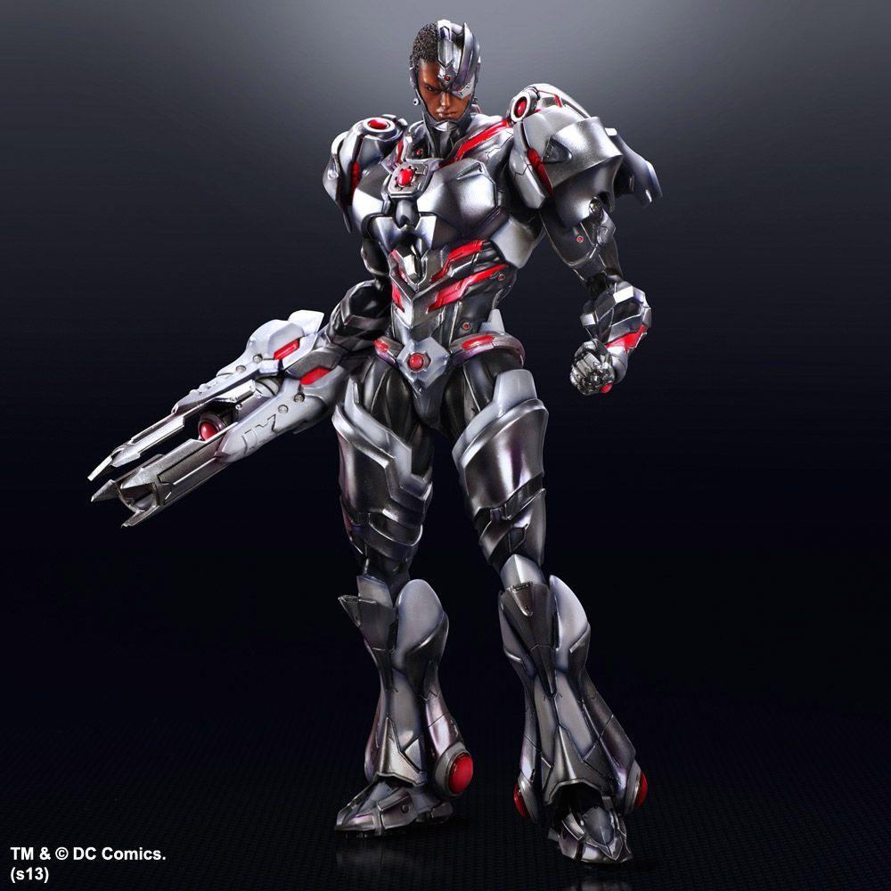 DC Comics Variant Figurine Play Arts Kai Cyborg Square Enix