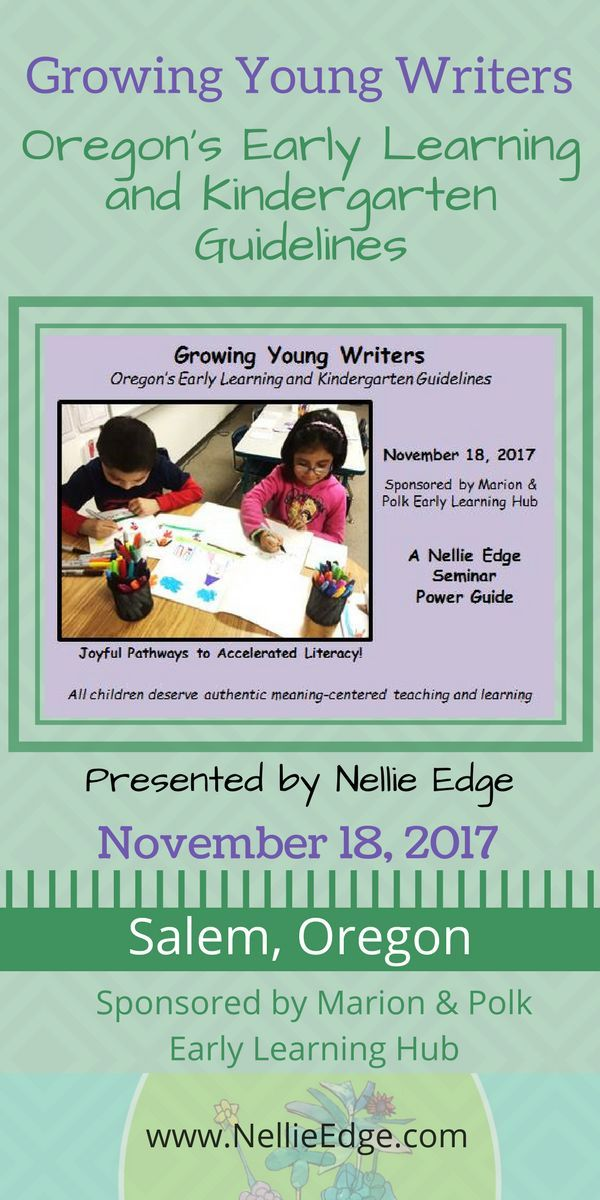 Powerful and dynamic kindergarten writing workshop with Nellie Edge - best of sample invitation letter of seminar