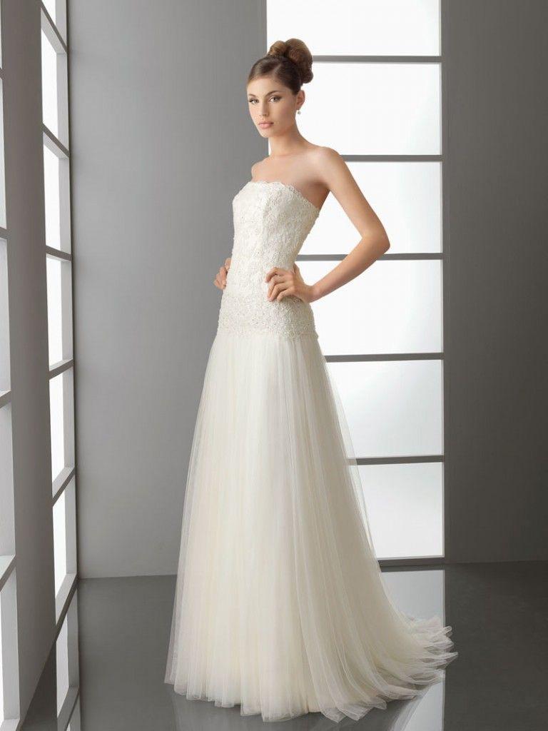 Natural wedding dresses  simple wedding dresses with sleeves  Simple Wedding Dresses