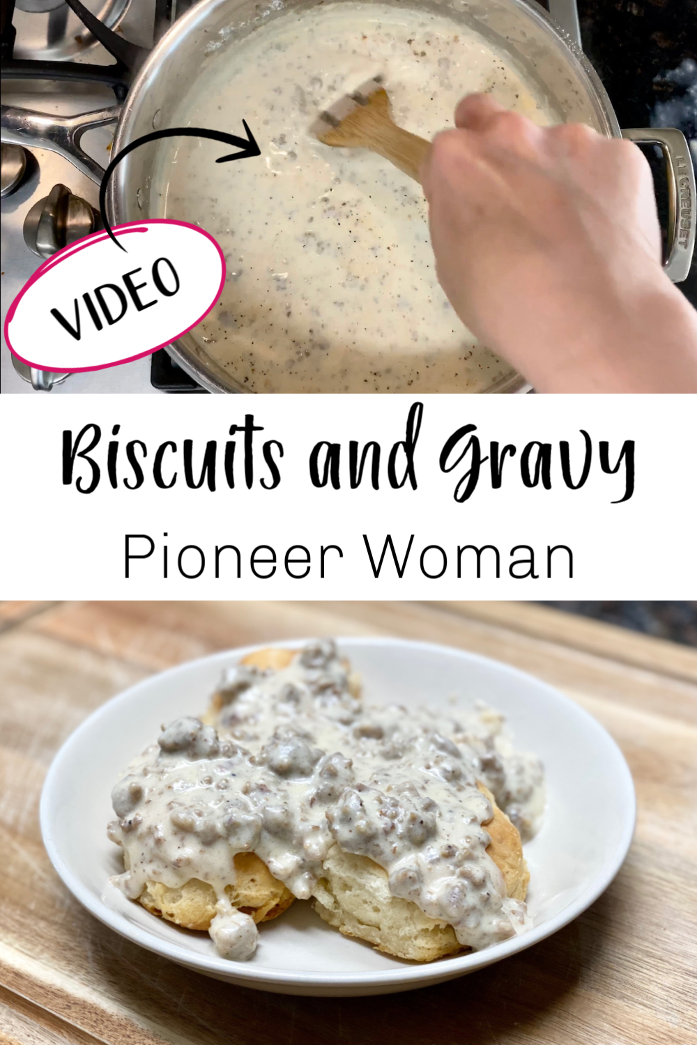 biscuits and gravy recipe breakfast recipes in 2020 biscuits and gravy recipes sausage gravy and biscuits pinterest