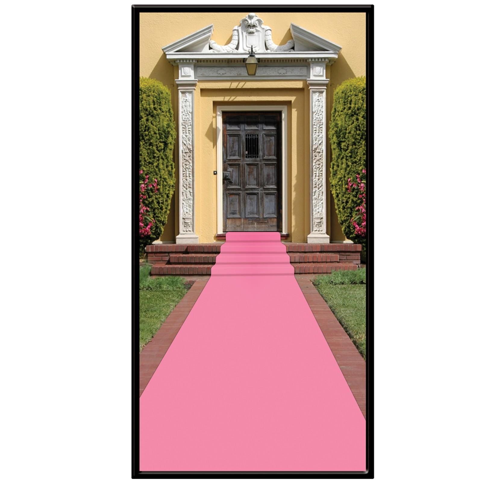 Pink Carpet Runner Birthdayexpress Com Pink Carpet Barbie Decorations Baby Shower Party Decorations