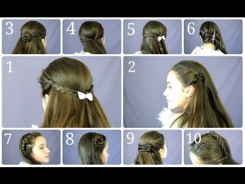 10 Easy Simple Half Up Hairstyles For Everyday Easy Hairstyles Easy Everyday Hairstyles Everyday Hairstyles