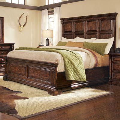 Desoto Upholstered Storage Standard Bed Panel Bed Furniture California King Bed Frame