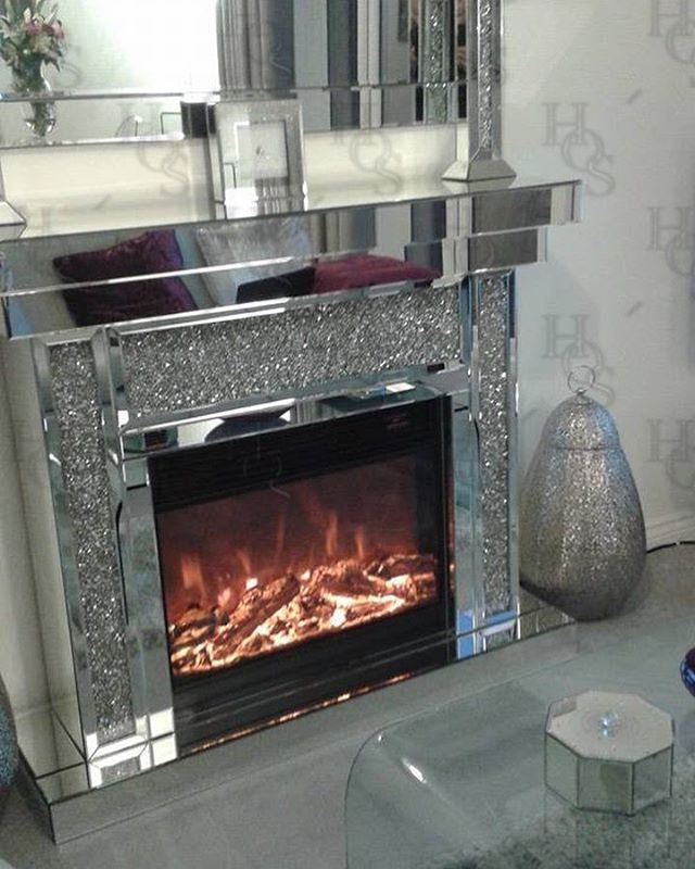 Furniture 0 Interest: Our Diamond Crush Fireplace With Electric Fire Included 0