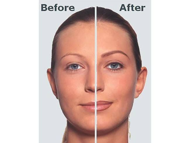 Eyebrows Tattoo Before and After | Corrective makeup ...
