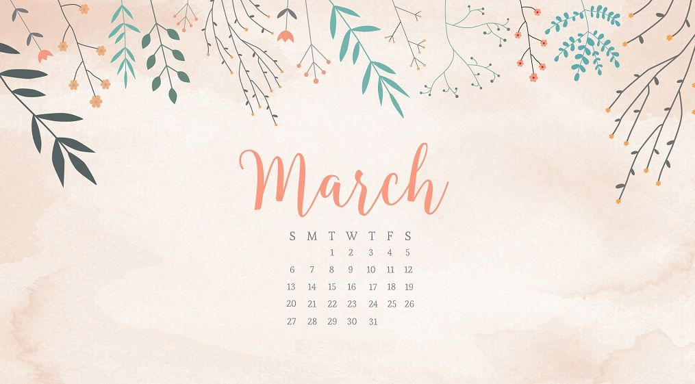 Remarkable March 2018 Calendar For Desktop Calendar 2018 In 2019 Download Free Architecture Designs Xoliawazosbritishbridgeorg