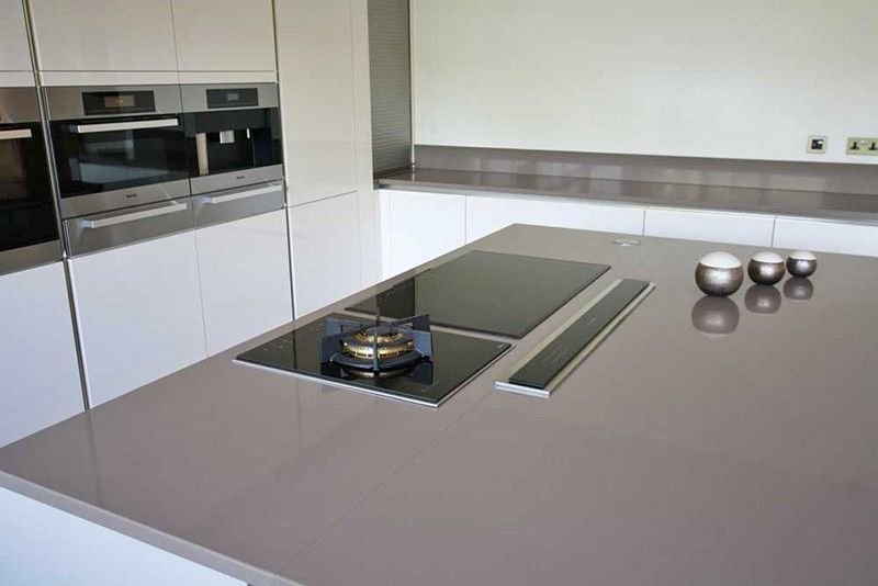 Kitchen Island Extractor Fans fine kitchen island hob installed on with overhead extractor in