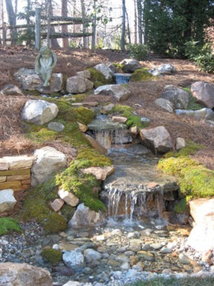 That's How to Make Waterfall for Your Home Garden ...