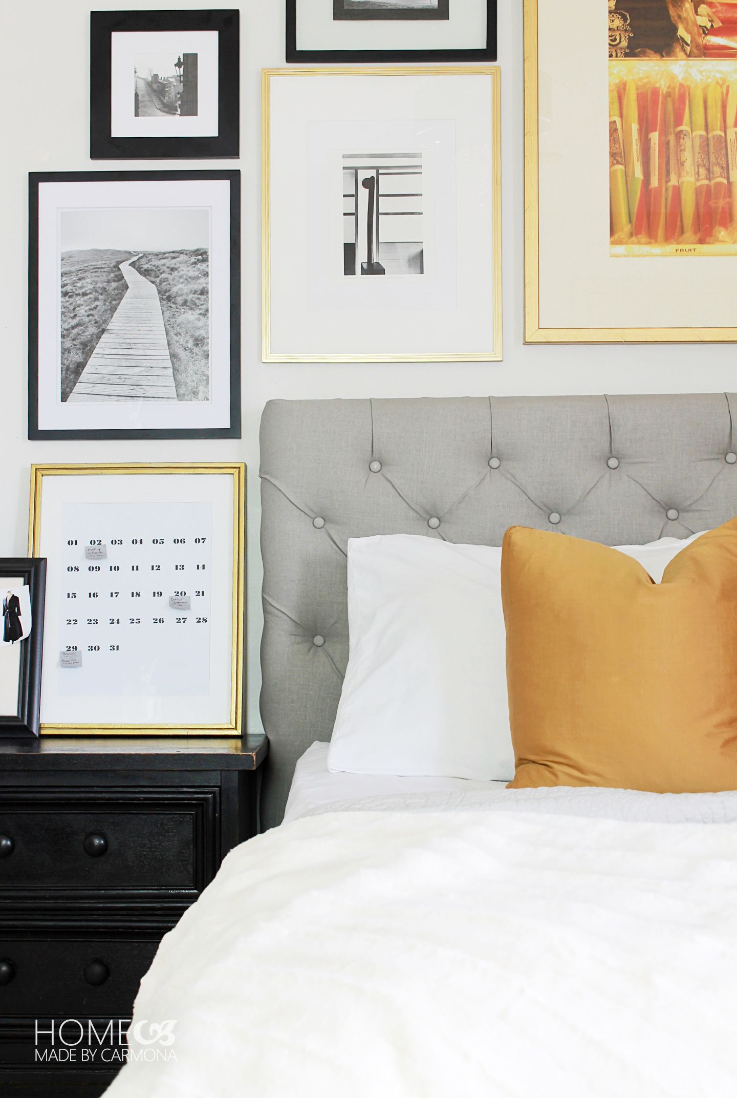 A Dramatic Master Bedroom Makeover  Home Made By Carmona